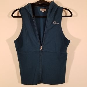 Guess hooded vest
